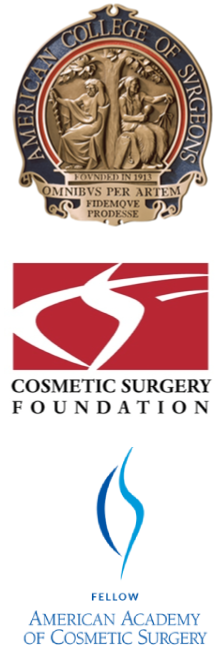 three cosmetic surgery awards