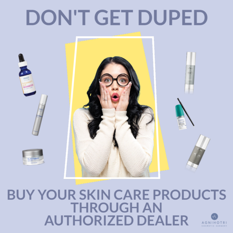 don't get duped by online skincare